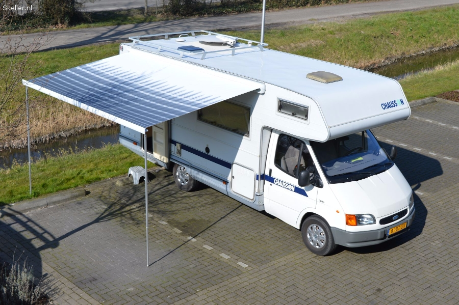 Grote 7 pers Chausson camper