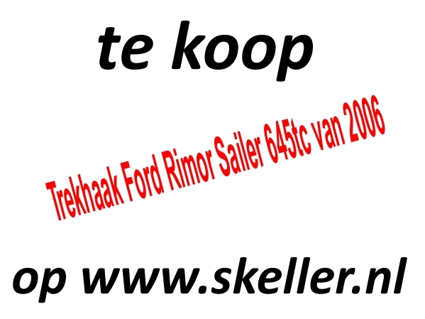 Trekhaak Ford Rimor Sailer 645tc van 2006